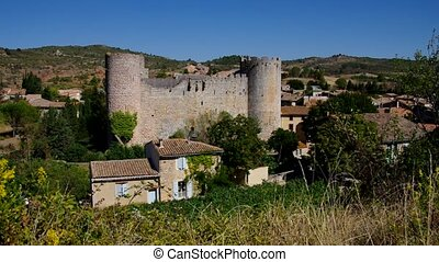 cathare castle Villerouge-Termenes in southern France