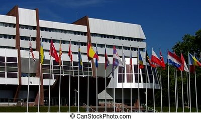 Council of Europe building in Strasbourg