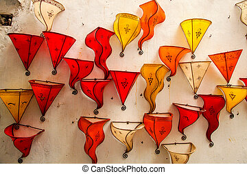 Leather lamps for sale