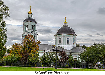 Church in Tsaritsyno, Moscow - Church of the Theotokos Life...