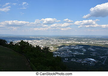 View of Chattanooga in Tennessee