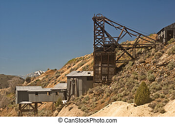 Mine from Gold Hill, Nevada