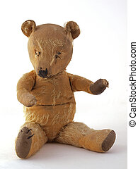 1950 teddy bear sitting down
