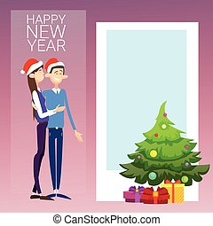Coupe Celebrate Merry Christmas And Happy New Year Wear...