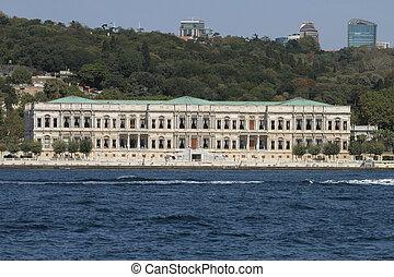 Ciragan Palace in Istanbul City, Turkey - Ciragan Palace in...