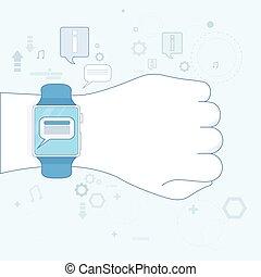Smart Watch New Communication Technology Electronic Device...