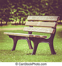 bench on the park