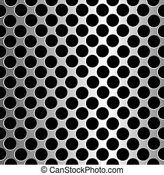 metallic circles texture