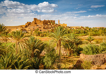 The Kasbah of Tifoultoute in Ouarzazate Province, Morocco
