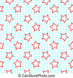 stars seamless pattern, abstract texture; art illustration