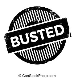 Busted stamp - Busted rubber stamp. Grunge design with dust...