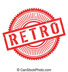 Retro stamp. Grunge design with dust scratches. Effects can...