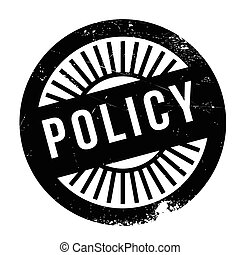 Policy stamp. Grunge design with dust scratches. Effects can...