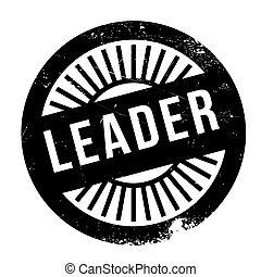 Leader stamp. Grunge design with dust scratches. Effects can...