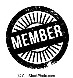 Member stamp. Grunge design with dust scratches. Effects can...