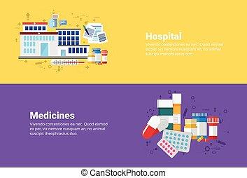 Hospital Medicines Prescription Medical Application Health Care Medicine Online Web Banner