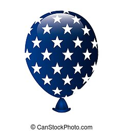 united states of america balloon party