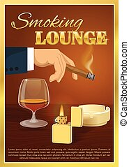 Smoking Lounge Poster
