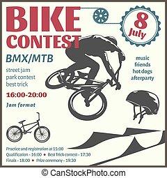 BMX Event Flyer