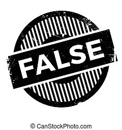 False rubber stamp