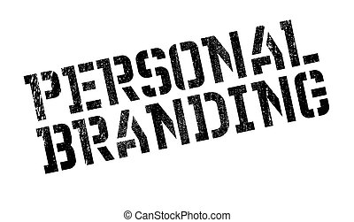 Personal branding stamp. Grunge design with dust scratches....