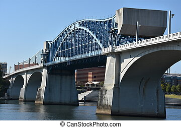 Market Street Bridge in Chattanooga, Tennessee