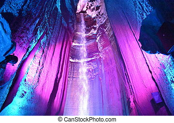 Ruby Falls in Chattanooga, Tennessee in the USA