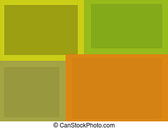 Rectangular Background Composition - Abstract Multi Hued...