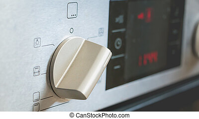 switch on an electric oven convection position