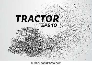 Tractor of the particles. Tractor on tracks consists of...