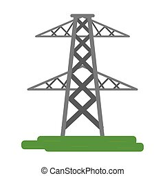 electrical tower transmission energy power