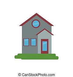 family house facade residential design
