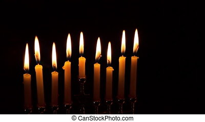 Jewish holiday hannukah low key image of jewish holiday...