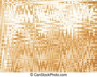 gold abstract blured background with wave pattern