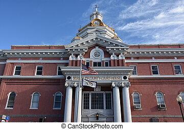 Berkeley County Courthouse in Martinsburg, WV - Berkeley...