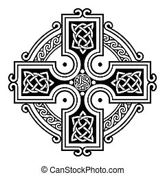 Celtic national ornaments. - Celtic national ornament in the...