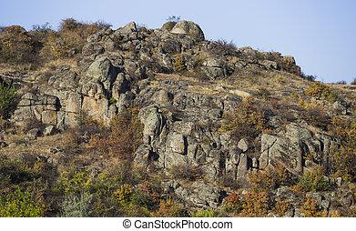 parete,  canyon, pietra