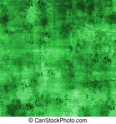 Square grunge olive green background with weathered stained...