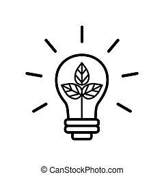 green innovation illustration design