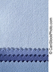 Composition of colored stripes of serrated cotton...