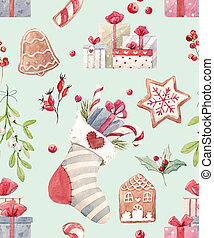 Nice christmas pattern - Beautiful pattern with some...