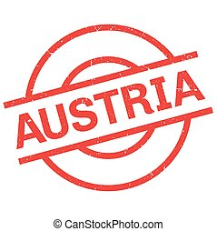 Austria rubber stamp