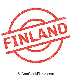 Finland rubber stamp