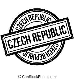 Czech Republic rubber stamp
