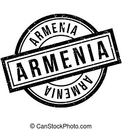 Armenia rubber stamp. Grunge design with dust scratches....