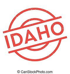 Idaho rubber stamp