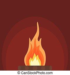 Fire bonfire