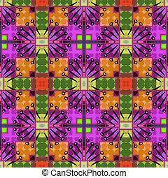 Abstract Pattern - A completely seamless pattern that will...
