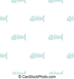 Pet case icon in pattern style isolated on white background. Cat symbol stock vector illustration.