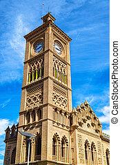 The railway station of Toledo, Spain